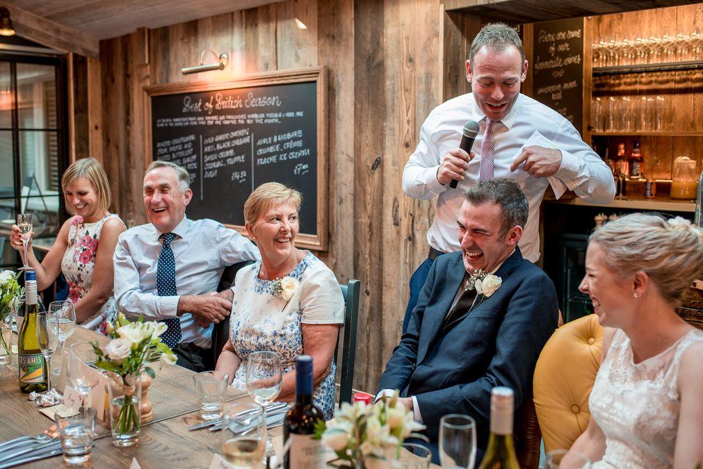 London Pub Wedding
