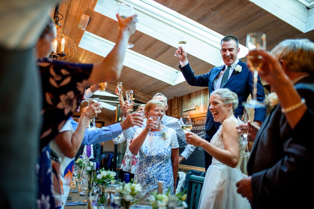 The County Arms Pub Wedding