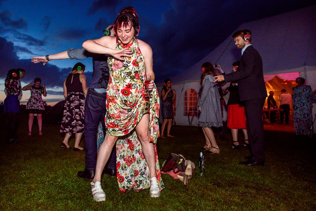 Barleylands festival wedding