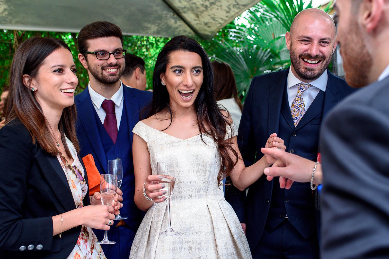 Comic book themeed wedding