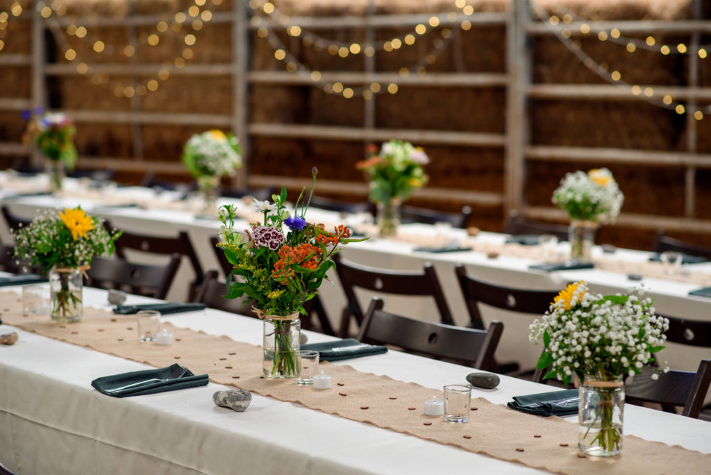 Table details at Patricks Barn in West Sussex