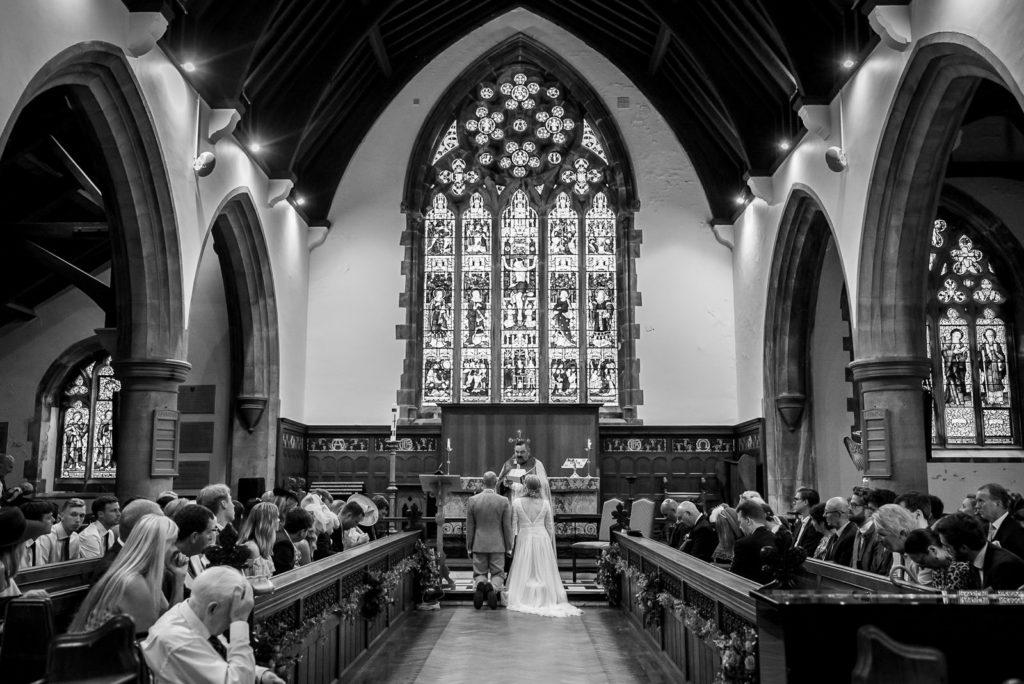 Wedding ceremony at Brighton College