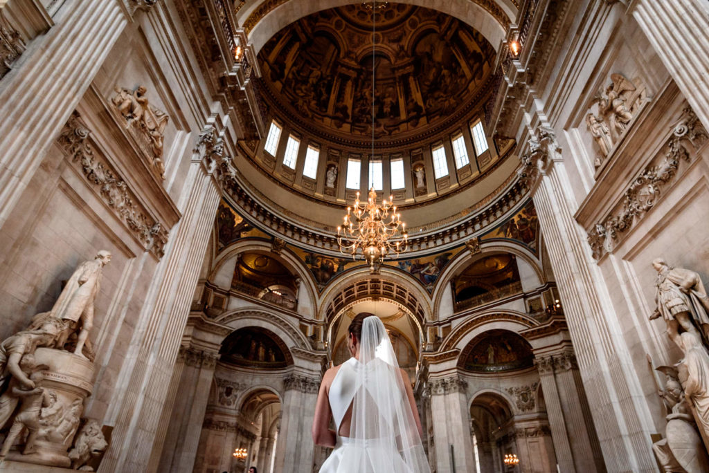 Wedding Ceremony at St Paul's Cathedral
