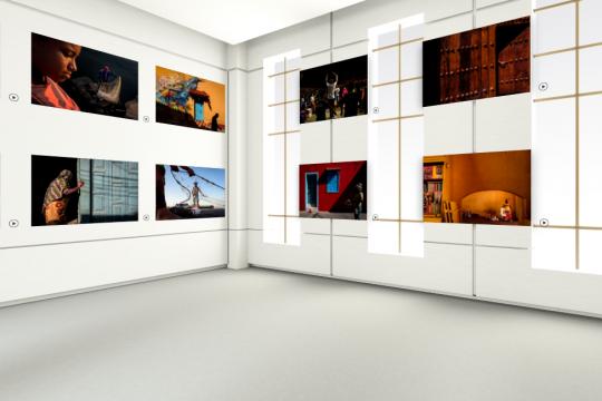 virtual photo exhibition